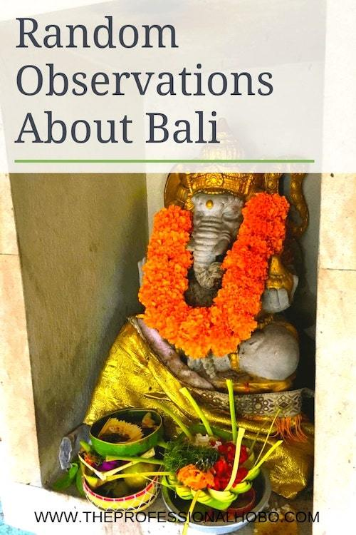 Here are some random observations about Bali and life in Bali, including a wee rant about people who say it isn't what it once was! #TravelPlanning #TravelTips #SaveMoneyTraveling #MakingMoneyWhileTraveling #Indonesia #BaliTravel #Bali #Asia #RandomObservations #AsianCulture #KiteFlying #BudgetTravelTips #WhereToEat #ThingsToDo #AsiaTravel