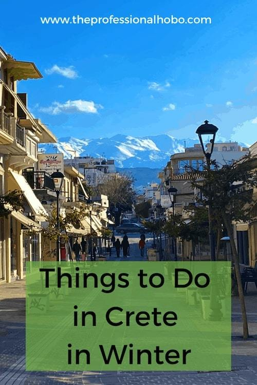 Fantastic things to do in Chania Crete in winter! #Greece #Crete #Chania #wintertravel #TheProfessionalHobo #winterinEurope